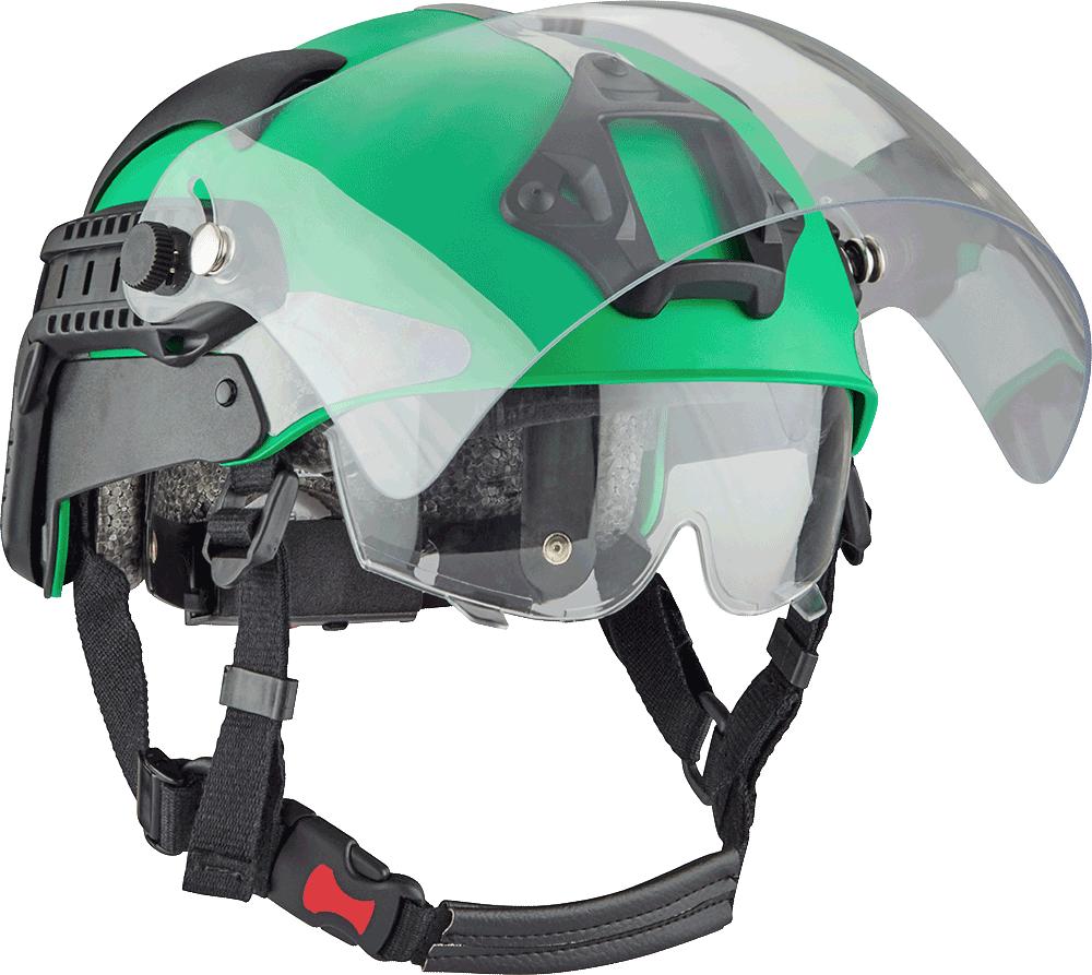 Manta_Tactical_Green_Helmet_Angle_Right_Visor_Up_No_Shadow
