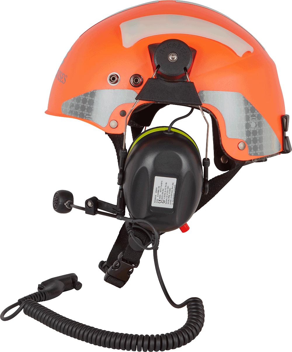 Orange_Princess_Cruises_Helmet_Left_Side